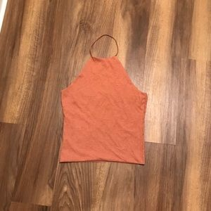 Kendall and Kylie halter crop top
